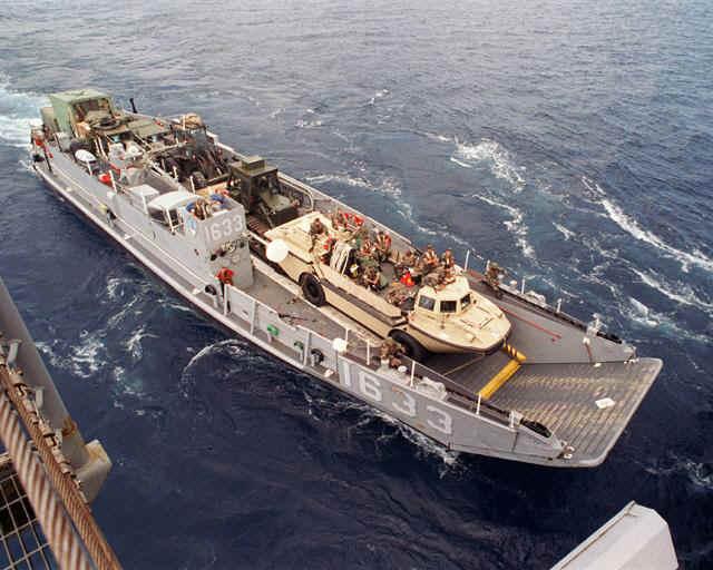 Landing Ship Barge