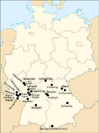 Close USAG Garmisch - Germany map military bases