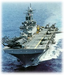 Photograph of  USS WASP LHD 1
