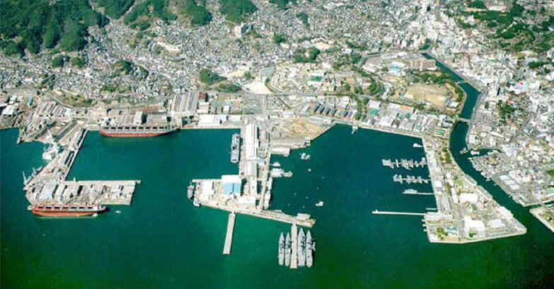 Vacate Sasebo - Us naval bases in japan map